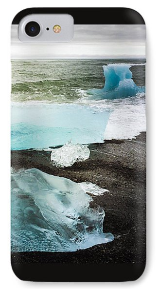 Iceberg Pieces Jokulsarlon Iceland IPhone Case