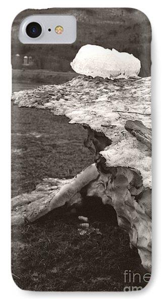 Iceberg Silo IPhone Case by Heather Kirk