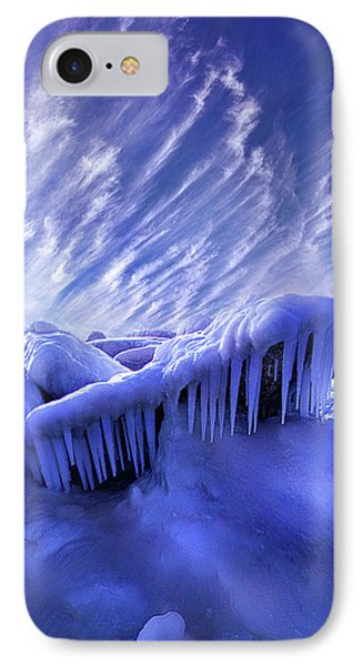 IPhone Case featuring the photograph Iced Blue by Phil Koch
