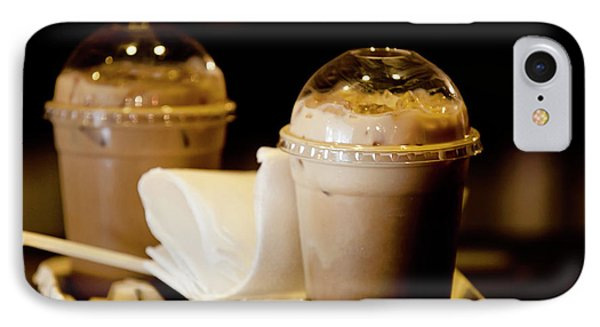 Iced Caramel Coffee IPhone Case
