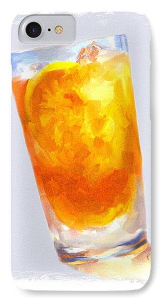 Iced Tea Phone Case by Jai Johnson