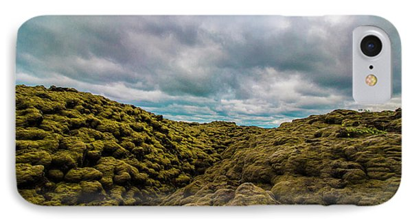 Iceland Moss And Clouds IPhone Case