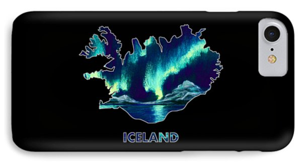Iceland - Northern Lights - Aurora Hunters IPhone Case