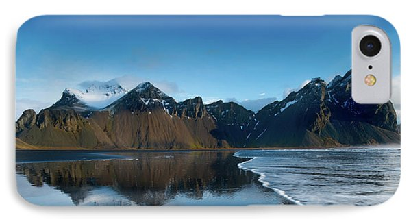 Iceland Sunrise IPhone Case by Larry Marshall