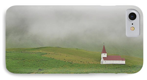 IPhone Case featuring the photograph Icelandic Chapel by Joe Bonita
