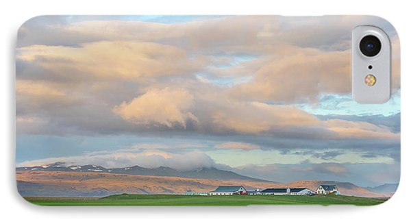 IPhone Case featuring the photograph Icelandic Farmhouse by Brad Scott