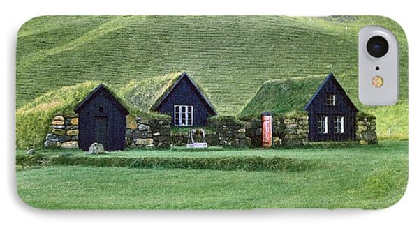 Icelandic Turf Homes Phone Case by Mario Carini