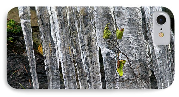 IPhone Case featuring the photograph Icicles by Sharon Talson