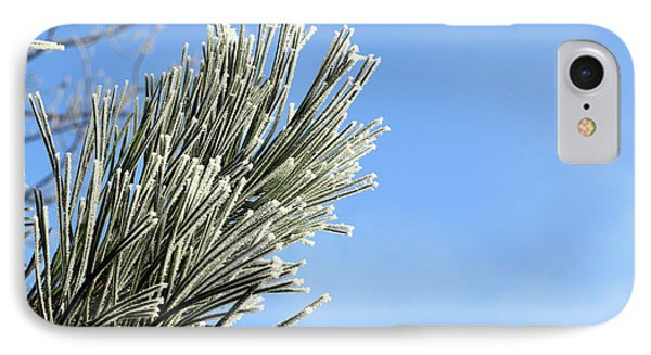 IPhone Case featuring the photograph Icing On The Needles by Michal Boubin