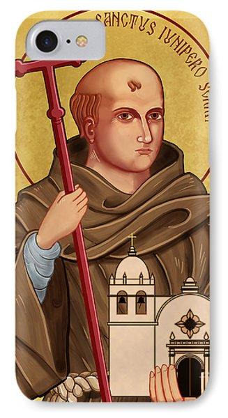 Icon Of Saint Junipero Serra IPhone Case
