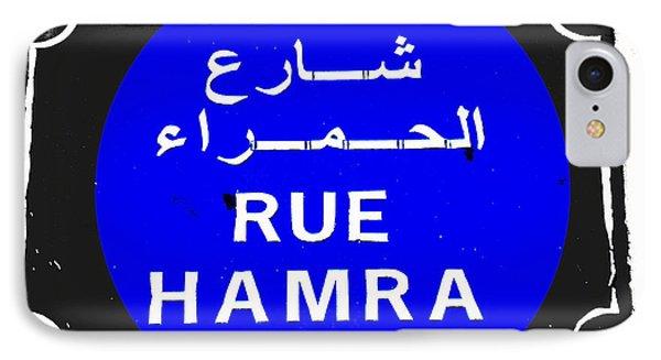 Iconic Hamra Street Beirut Phone Case by Funkpix Photo Hunter