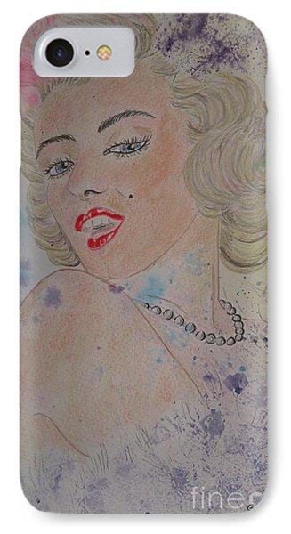Iconic Women.marilyn Munroe IPhone Case by Ger Ryan
