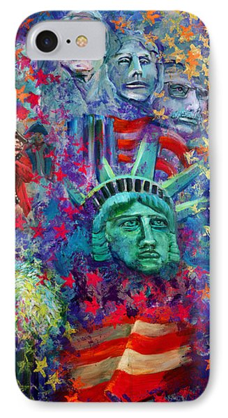 Icons Of Freedom Phone Case by Peter Bonk