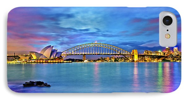 Icons Of Sydney Harbour IPhone 7 Case by Az Jackson
