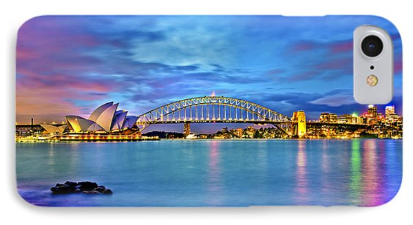 Icons Of Sydney Harbour IPhone Case by Az Jackson