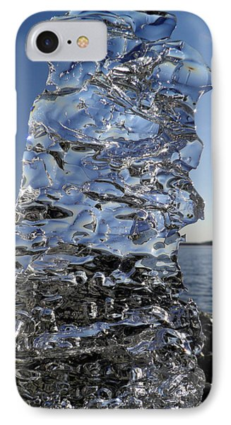IPhone Case featuring the photograph Icy Beach View 3 by Sami Tiainen