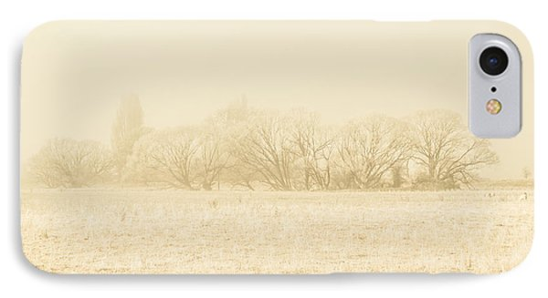 Icy Cold Foggy Woodland IPhone Case by Jorgo Photography - Wall Art Gallery