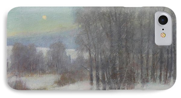 Icy Evening IPhone Case by Lori McNee