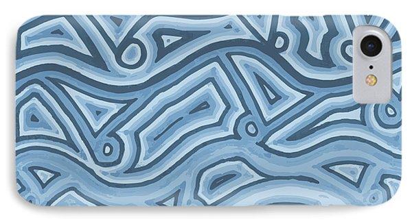Icy Layers IPhone Case by Jill Lenzmeier