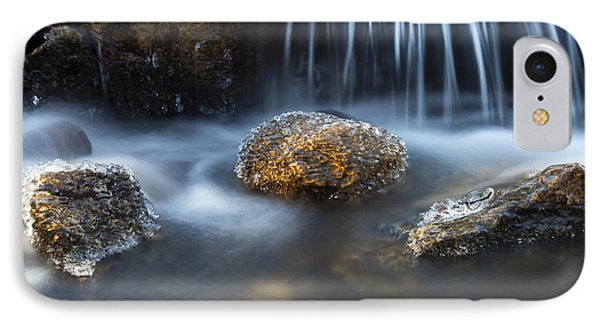 IPhone Case featuring the photograph Icy Rocks On The Coxing Kill #1 by Jeff Severson