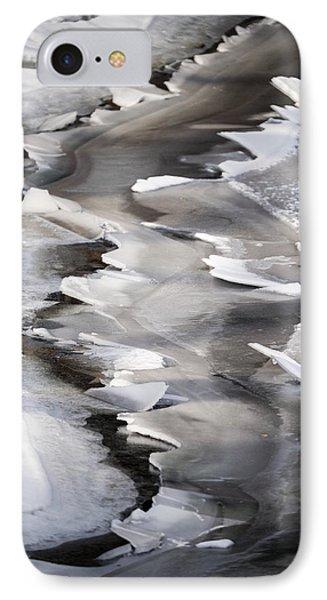 Icy Shoreline IPhone Case