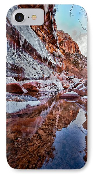 Icy Stillness Phone Case by Christopher Holmes
