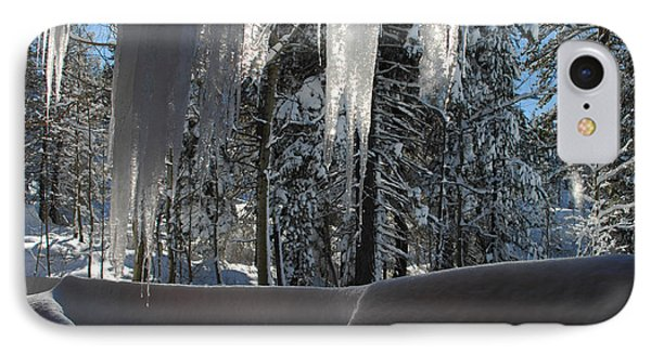Icy Viewpoint Phone Case by Donna Blackhall