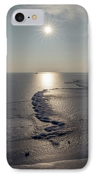 IPhone Case featuring the photograph Icy World by Davorin Mance