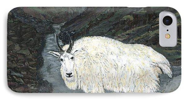 Idaho Mountain Goat IPhone Case