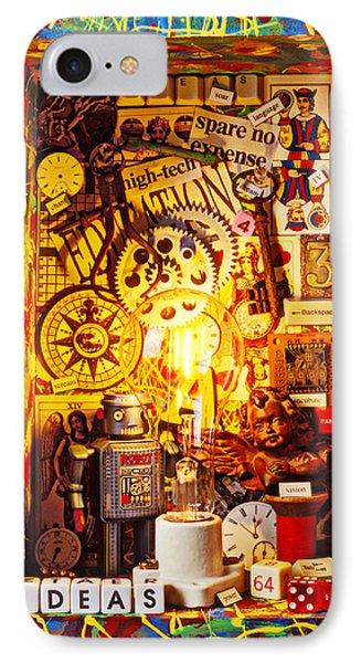 Ideas Phone Case by Garry Gay