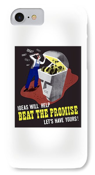 Ideas Will Help Beat The Promise IPhone Case by War Is Hell Store