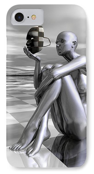 Identity Phone Case by Sandra Bauser Digital Art