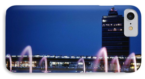IPhone Case featuring the photograph Idlewild Fountain And Tower by John Schneider