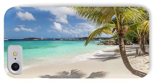 IPhone Case featuring the photograph Idyllic Salomon Beach by Adam Romanowicz