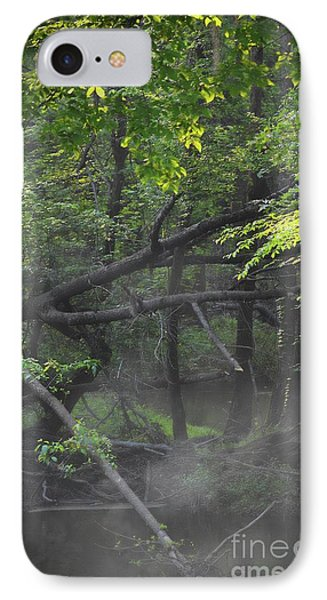 IPhone Case featuring the photograph If A Tree Falls In The Woods by Skip Willits