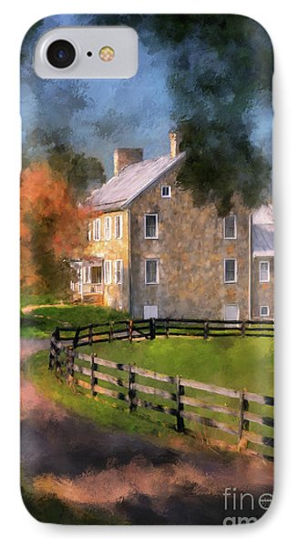 If These Walls Could Talk  IPhone Case by Lois Bryan