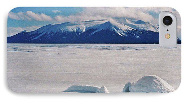 Igloo On Atlin Lake - Bc Phone Case by Juergen Weiss