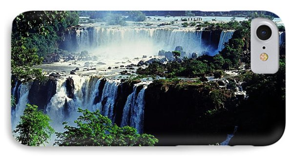 Iguacu Waterfalls Phone Case by Juergen Weiss