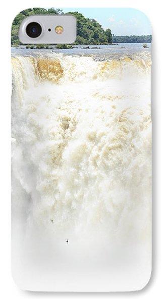 IPhone Case featuring the photograph Iguazu Falls by Silvia Bruno