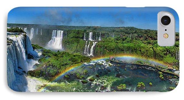 Iguazu Panorama IPhone Case by David Gleeson