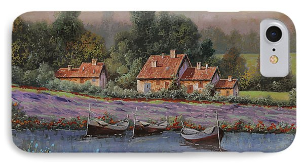 Il Borgo Tra Le Lavande IPhone Case by Guido Borelli