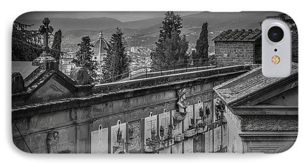 Il Cimitero E Il Duomo IPhone Case