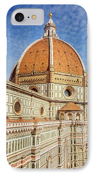 IPhone Case featuring the photograph Il Duomo Florence Italy by Joan Carroll