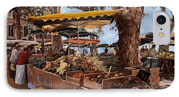 il mercato di St Paul IPhone Case by Guido Borelli
