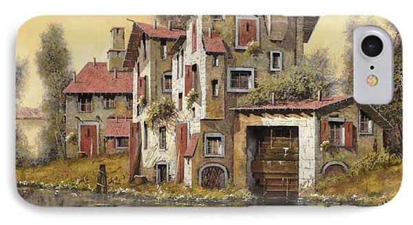 Il Mulino Giallo Phone Case by Guido Borelli