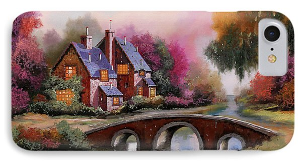 Il Ponticello A Colori IPhone Case by Guido Borelli