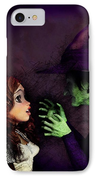 I'll Get You My Pretty IPhone Case by Methune Hively