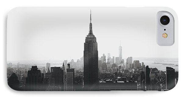 I'll Take Manhattan  IPhone Case by J Montrice