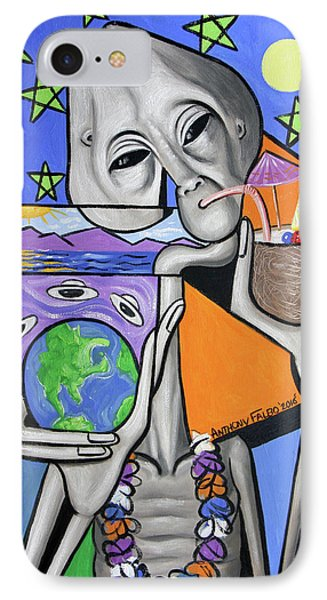 Illegal Alien Anthony Falbo IPhone Case