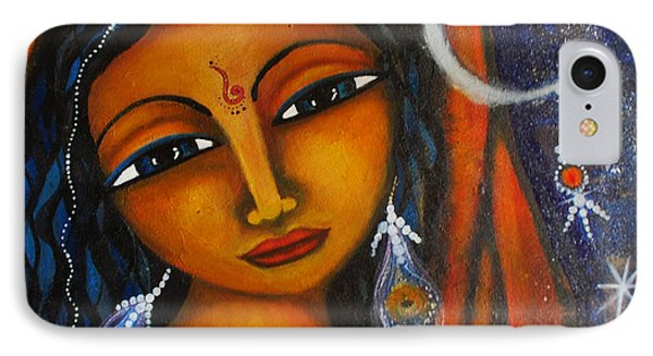 IPhone Case featuring the painting Illuminate by Prerna Poojara